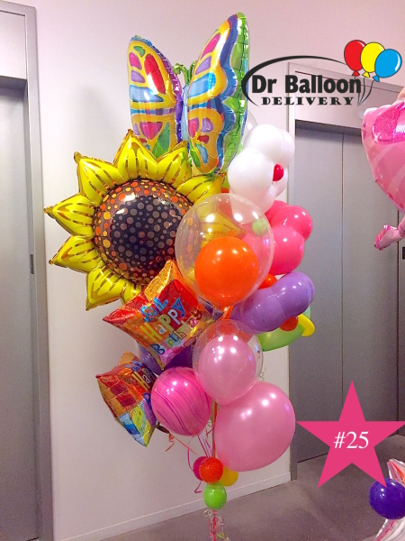 Santa Monica Balloon Bouquets Arrangements Birthdays Latex Balloons Helium Filled Giant Near Me Same Day Delivered